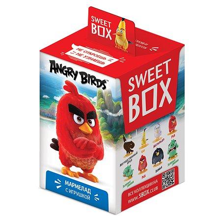 Мармелад Sweet box Angry Birds игрушка в коробке 10г