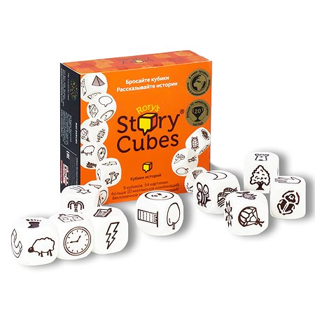 Кубики Историй Rory`s Story Cubes Кубики Историй. Original (9 кубиков)