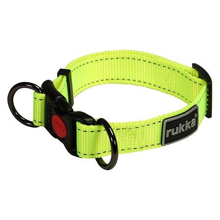 Ошейник для собак RUKKA PETS XS Желтый 460119250J438XS