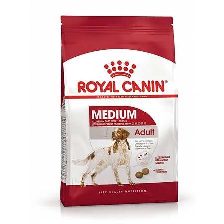 Корм для собак ROYAL CANIN средних пород 15кг