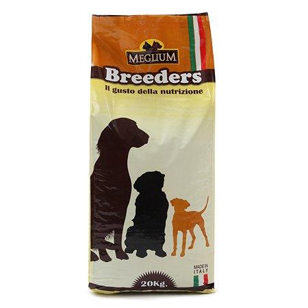 Корм для собак Meglium Breeders Adult Gold 20кг