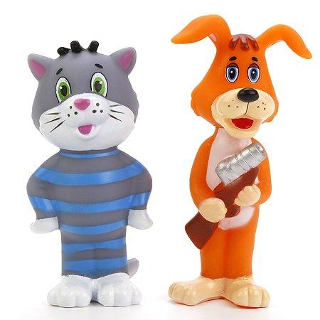 Набор для ванной Играем вместе Трое из Простоквашино Кот и собака