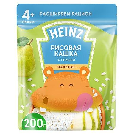 Каша молочная Heinz рисовая с грушей 200 г с 4 месяцев