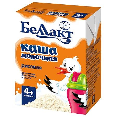 Каша молочная Беллакт рисовая 207г с 4месяцев