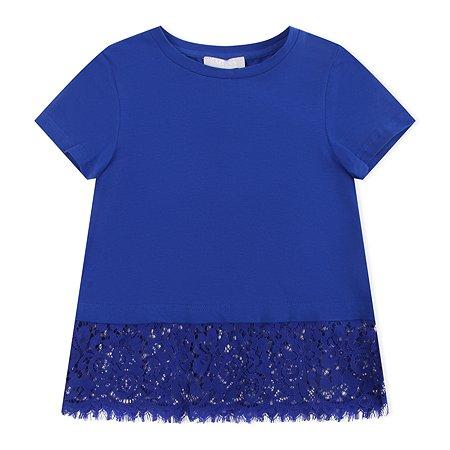 Блузка Smena ярко-синяя