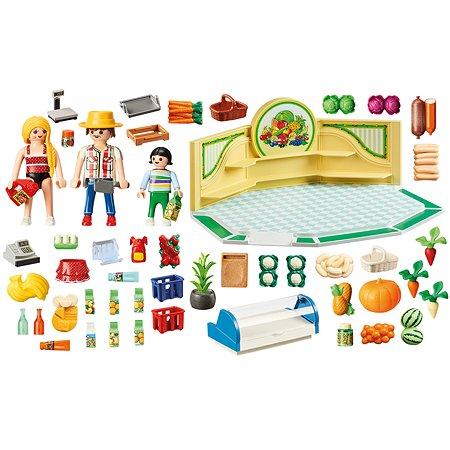 Конструктор Playmobil City Life Магазин продуктов 9403pm