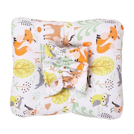 Подушка для кормления малыша AMARO BABY Sweet Kiss Лесные жители ABDM-40BJ-Z