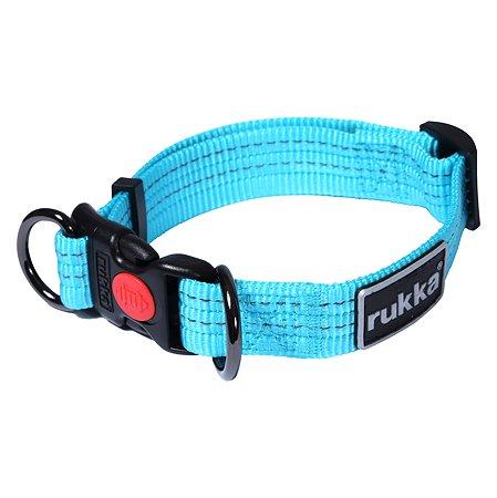 Ошейник для собак RUKKA PETS S Синий 460121236J335S