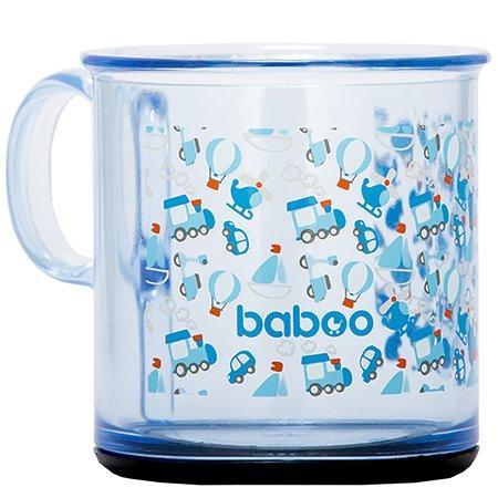 Чашка BABOO Transport с антискользящим дном 170мл с 12месяцев 8-401