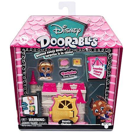 Мини-набор игровой Disney Doorables Красавица и Чудовище с 2 фигурками (Сюрприз) 69411