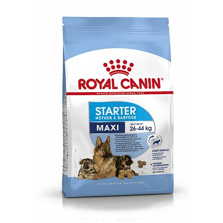 Корм для щенков ROYAL CANIN Starter крупных пород 4кг
