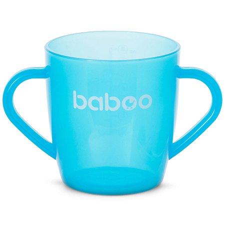 Чашка BABOO 200мл с 12месяцев Голубой 8-102