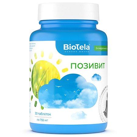 Биологически активная добавка BioTela Позивит противотревожный 30таблеток