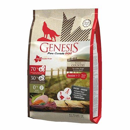 Корм для собак Genesis Pure Canada Wide Country Senior с мясом гуся фазана утки и курицы 907г