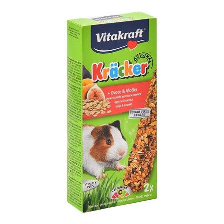 Лакомство для морских свинок Vitakraft Крекеры фруктовые 2шт 10639