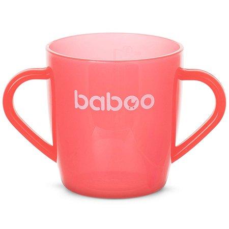 Чашка BABOO 200мл с 12месяцев Красный 8-102