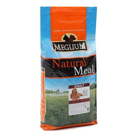 Корм для собак Meglium Adult 15кг