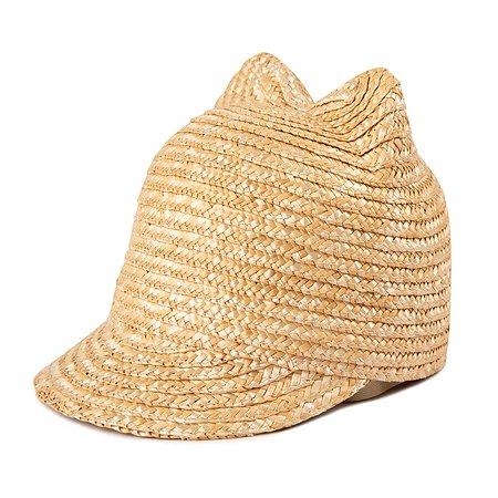 Шляпа Futurino Fashion бежевая
