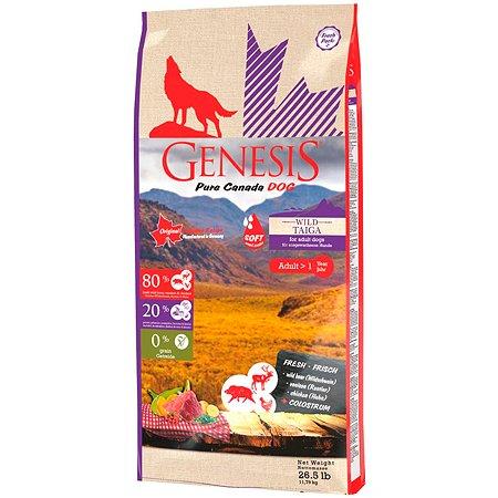 Корм для собак Genesis Pure Canada Wild Taiga Soft с мясом дикого кабана северного оленя и курицы 2.268кг