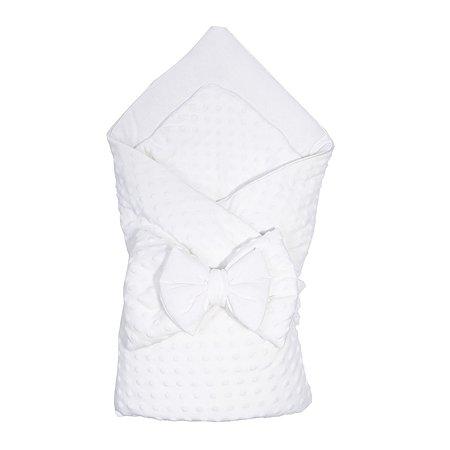 Конверт-одеяло Эдельвейс Нежность с бантом Молочный 11215