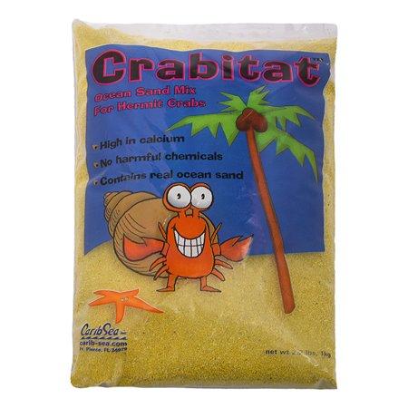Песок для раков-отшельников CaribSea Crabitat Желтый 1кг 00608
