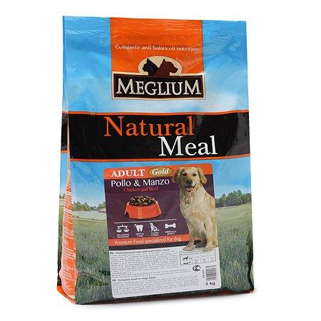 Корм для собак Meglium Adult Gold 3кг