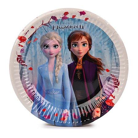 Тарелка Decorata Party Холодное сердце 8шт 1502-4528