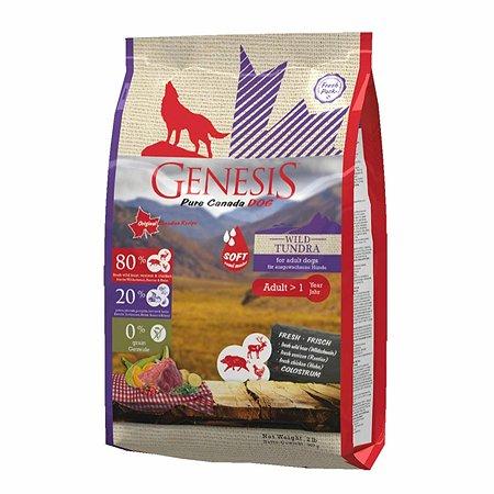 Корм для собак Genesis Pure Canada Wild Taiga Soft с мясом дикого кабана северного оленя и курицы 907г