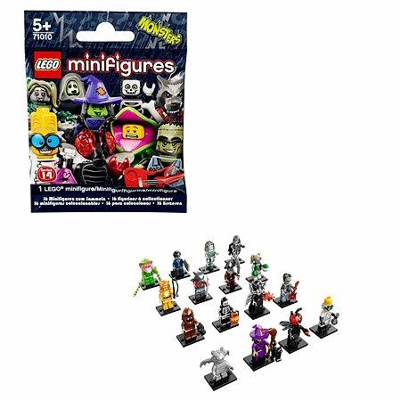 Конструктор LEGO Minifigures серия 14: Монстры (71010) в непрозрачной упаковке (Сюрприз)