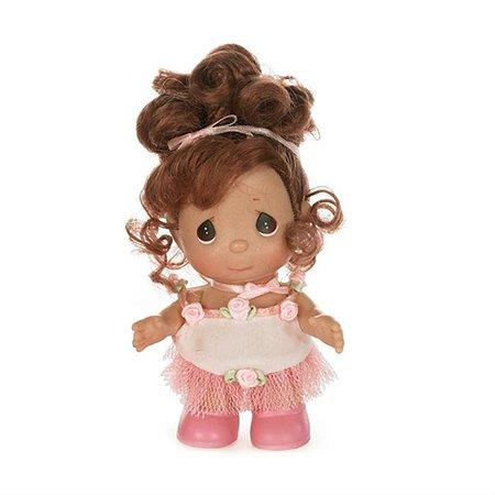 Кукла Precious Moments MINI Балерина брюнетка 14 см