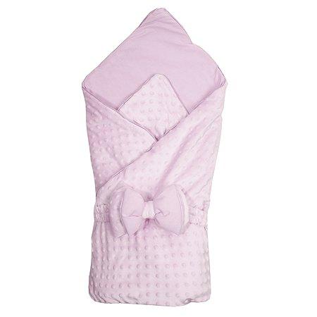 Конверт-одеяло Эдельвейс Нежность с бантом Розовый 11215