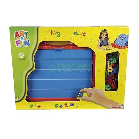 Магнитная доска Simba с буквами и цифрами