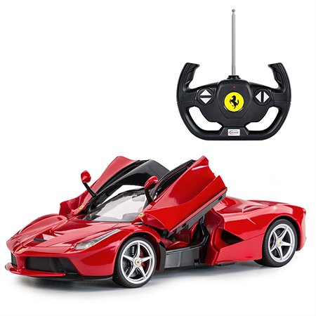 Машинка р/у Rastar Ferrari LaFerrari 1:14 красная