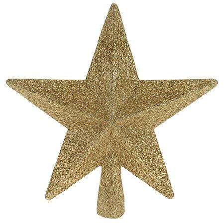 Верхушка для елки KOOPMAN Звезда 19см Золотой CAA691414