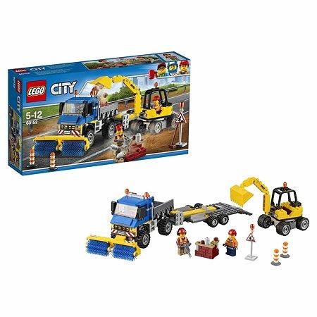 Конструктор LEGO City Great Vehicles Уборочная техника (60152)