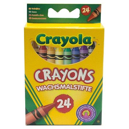 Пастель Crayola 24цвета 0024