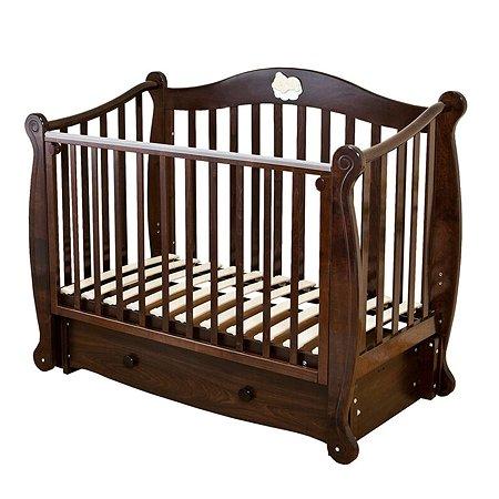 Кровать детская Красная Звезда (Можга) Валерия С707 шоколад