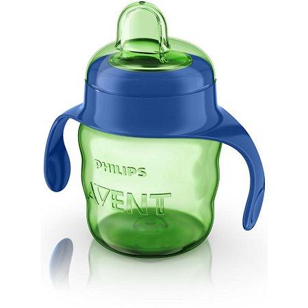 Чашка с ручками Philips Avent Comfort 200 мл 6 мес+ Голубая