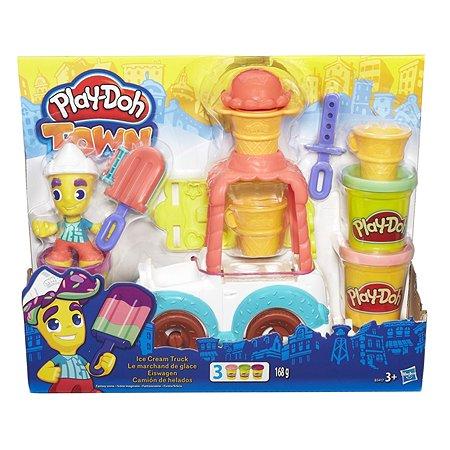 Набор Play-Doh Город. Грузовик с мороженым