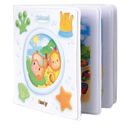 Мягкая книжечка Smoby для ванны