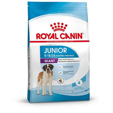 Корм для щенков ROYAL CANIN Junior гигантских пород 3.5кг