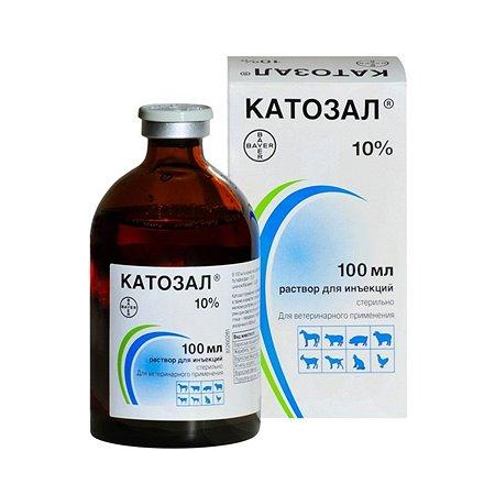 Препарат витаминный для кошек и собак BAYER Катозал 10% 100мл