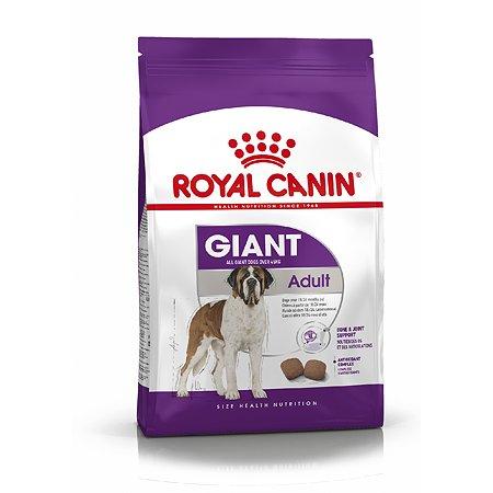 Корм для собак ROYAL CANIN гигантских пород 4кг