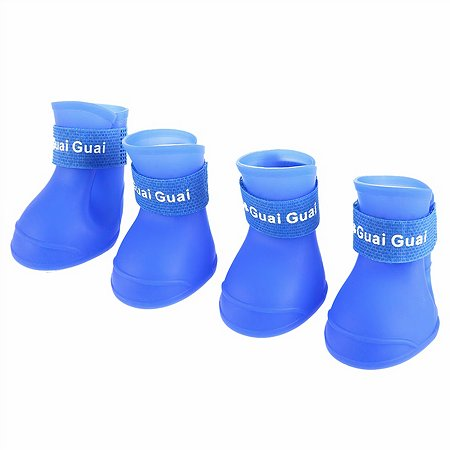 Ботинки для собак Грызлик Ам XL Синие