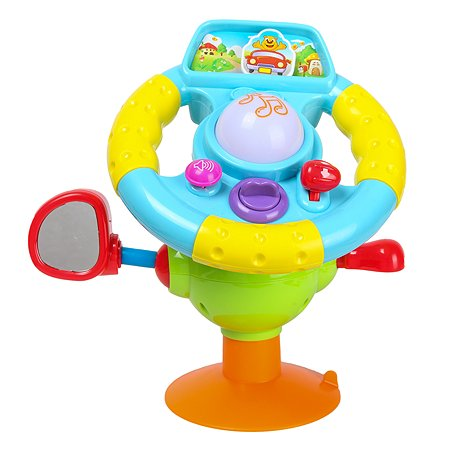 Игрушка развивающая ABC Руль на присоске 916