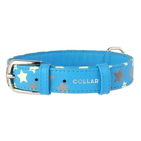 Ошейник для собак CoLLar Glamour Звездочка Синий 35862