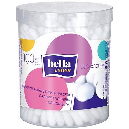 Палочки ватные Bella Cotton 100шт BC-081-P100-033