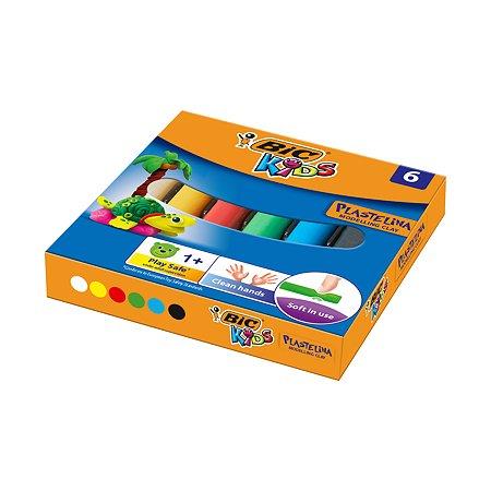 Пластилин BIC Kids 6цв
