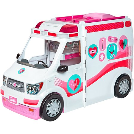 Машинка Barbie скорой помощи FRM19