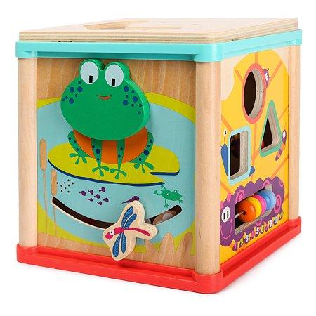 Центр игровой ABC Развивающий куб средний PK0822
